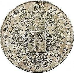 Moneta > 1thaler, 1781-1790 - Austria  - reverse