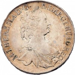 سکه > ½تالر, 1754-1757 - اتریش   - obverse