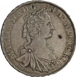 Монета > ½талера, 1746-1753 - Австрія  - obverse