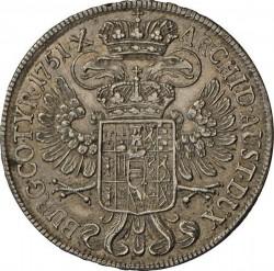 Монета > ½талера, 1746-1753 - Австрія  - reverse