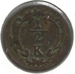 سکه > ½کرویزر, 1760-1764 - اتریش   - obverse