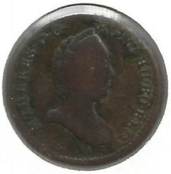 سکه > ½کرویزر, 1760-1764 - اتریش   - reverse