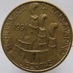 Moneda > 200lire, 1991 - San Marino  - obverse