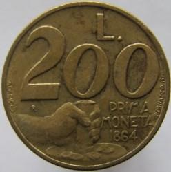 Moneda > 200lire, 1991 - San Marino  - reverse