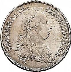 Монета > 1талер, 1773-1780 - Австрія  - obverse