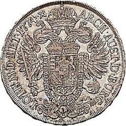 Монета > 1талер, 1773-1780 - Австрія  - reverse