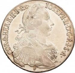 Moneta > 1thaler, 1765-1777 - Austria  - obverse