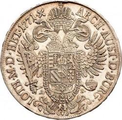 Moneta > 1thaler, 1765-1777 - Austria  - reverse