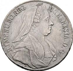 Moneta > 1thaler, 1765-1772 - Austria  - obverse