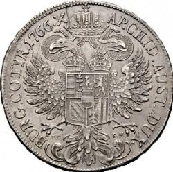 Moneta > 1thaler, 1765-1772 - Austria  - reverse