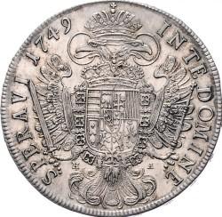 Монета > 1талер, 1746-1750 - Австрія  (Франц І) - reverse