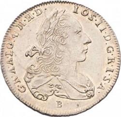 Монета > 3крейцера, 1766-1780 - Австрія  - obverse