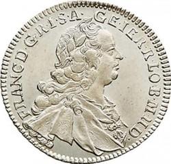 Монета > 17крейцерів, 1751-1765 - Австрія  (Франц І) - obverse