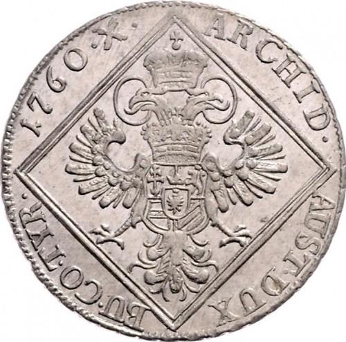 30 Kreuzer 1760 Maria Theresia österreich Münzen Wert Ucoinnet