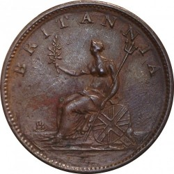 Moneta > ½pensa, 1806-1807 - Wielka Brytania  - reverse