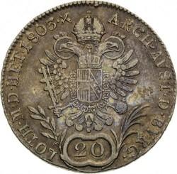 سکه > 20کرویزر, 1792-1804 - اتریش   - reverse