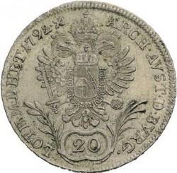 Moneta > 20kreuzer, 1790-1792 - Austria  - reverse