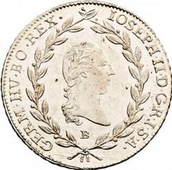 سکه > 20کرویزر, 1781-1790 - اتریش   (Joseph II - Close Wreath above Head) - obverse