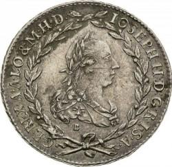 سکه > 20کرویزر, 1765-1780 - اتریش   (Joseph II) - obverse