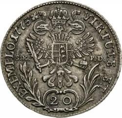 سکه > 20کرویزر, 1765-1780 - اتریش   (Joseph II) - reverse