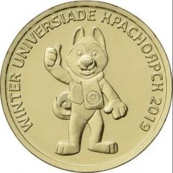 Moneta > 10rubli, 2018 - Russia  (Universiade in Krasnoyarsk, 2019 (Talisman)) - obverse