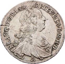 سکه > 17کرویزر, 1765 - اتریش   (Francis I - Posthumous coin) - obverse
