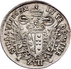 سکه > 17کرویزر, 1765 - اتریش   (Francis I - Posthumous coin) - reverse