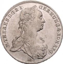 Münze > 15Kreuzer, 1748-1750 - Österreich   (kleines Wappen von Tirol in der Mitte) - obverse