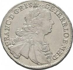 Монета > 15крейцерів, 1747-1750 - Австрія  (Франц І) - obverse