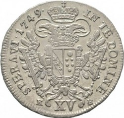 Монета > 15крейцерів, 1747-1750 - Австрія  (Франц І) - reverse