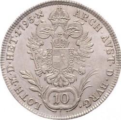 Moneta > 10kreuzer, 1792-1797 - Austria  - reverse