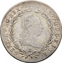 Монета > 10кройцера, 1790-1792 - Австрия  - obverse