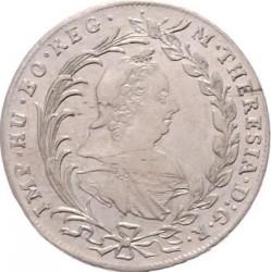 Coin > 10kreuzer, 1770-1780 - Austria  (Maria Theresa - Hall in Tirol) - obverse