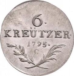 سکه > 6کرویزر, 1795 - اتریش   - reverse