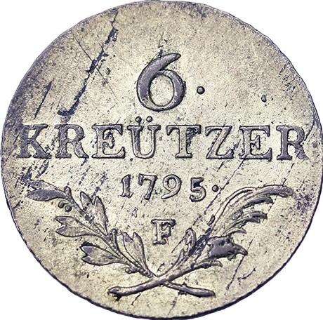 6 Kreuzer 1795 österreich Münzen Wert Ucoinnet
