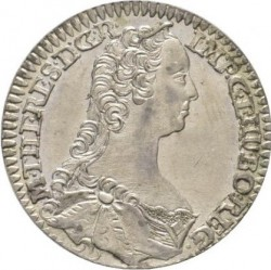 سکه > 6 کرویزر, 1747 - اتریش   (Maria Theresa - Tyrolean eagle with arms) - obverse