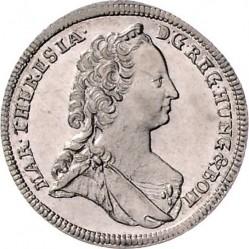سکه > 6کرویزر, 1743-1745 - اتریش   - obverse