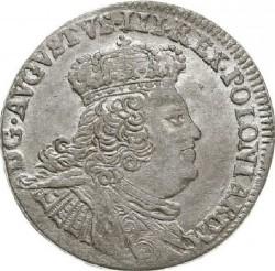 Münze > 6Groszy, 1753-1756 - Polen  - obverse