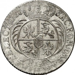 Münze > 2Złote, 1753-1756 - Polen  - reverse