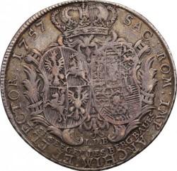 Münze > 1Taler, 1755-1762 - Polen  - reverse