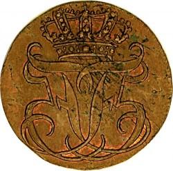 錢幣 > ½斯基林, 1751-1762 - 丹麥王國  - obverse