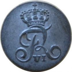 錢幣 > 1斯基林, 1808-1809 - 丹麥王國  - obverse