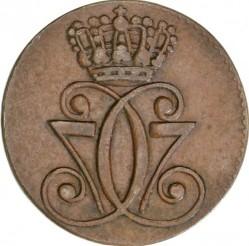 Münze > 1Skilling, 1771 - Dänemark   - obverse