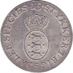 錢幣 > 1/15speciedaler, 1796-1799 - 丹麥王國  - obverse