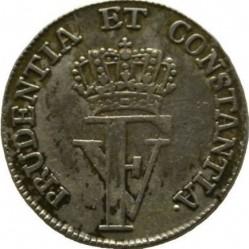 """錢幣 > 8斯基林, 1763 - 丹麥王國  (Monogramm """"FV"""") - obverse"""