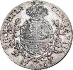 "錢幣 > 1斯貝代勒, 1764 - 丹麥王國  (Initials Under the Portrait ""IHW"") - reverse"
