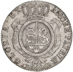 錢幣 > 1斯貝代勒, 1769 - 丹麥王國  - reverse