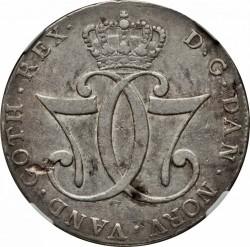 Münze > 1Speciesdaler, 1776-1780 - Dänemark   - obverse