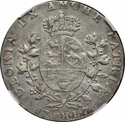 Münze > 1Speciesdaler, 1776-1780 - Dänemark   - reverse