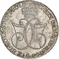 錢幣 > 1斯貝代勒, 1777 - 丹麥王國  - obverse